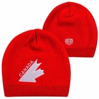 CANADA old time Hockey шапка спортивная зимняя красная
