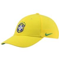 Brasil nike футбольная спортивная бейсболка желтая