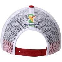 Spain adidas world cup футбольная бейсболка с сеткой белая желто-красная