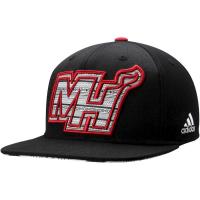 Miami Heat nba adidas snapback спортивная кепка черная