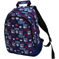New York Rangers nhl молодежный 42х41х11 рюкзак цветной синий