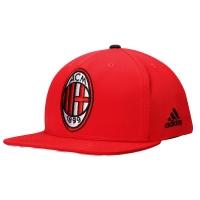 AC Milan adidas snapback футбольная кепка с прямым козырьком красная
