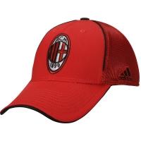 AC Milan adidas flex футбольная бейсболка с сеткой красная