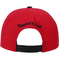 Chicago Bulls nba mitchell & ness snapback спортивная кепка красная