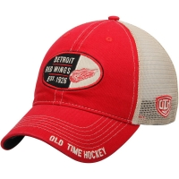 Detroit Red Wings nhl old time hockey хоккейная бейсболка с сеткой