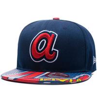 Atlanta Braves mlb new era snapback спортивная кепка с прямым козырьком