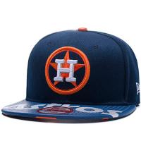 Houston Astros mlb new era snapback спортивная кепка с прямым козырьком