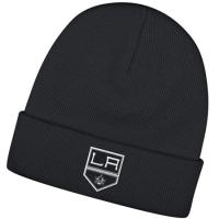 Los Angeles Kings nhl reebok хоккейная шапка с отворотом черная