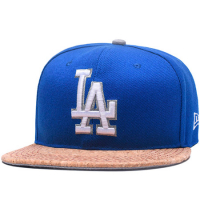 Los Angeles Dodgers mlb new era LA snapback спортивная кепка синяя