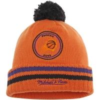 Phoenix Suns nba mitchell & ness script зимняя шапка с помпоном
