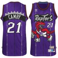 Marcus Camby Toronto Raptors nba adidas hardwood classics джерси баскетбольная майка фиолетовая