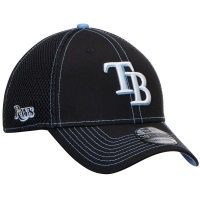 Tampa Bay Rays mlb new era flex neo спортивная бейсболка черная