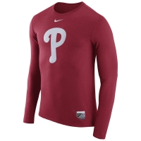 Philadelphia Phillies mlb nike authentic performance бейсбольная лонгслив футболка