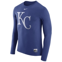 Kansas City Royals mlb nike authentic performance бейсбольная лонгслив футболка