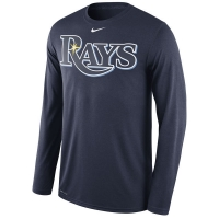 Tampa Bay Rays mlb nike legend dri-fit performance бейсбольная лонгслив футболка
