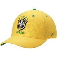 Brasil flex-fit футбольная спортивная бейсболка желтая