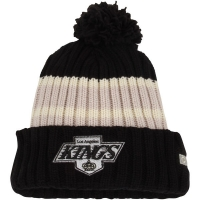 Los Angeles Kings nhl ccm vintage хоккейная шапка с помпоном черная
