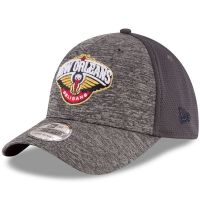 New Orleans Pelicans nba new era flex-fit shadowed спортивная бейсболка серая