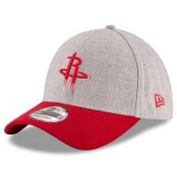 Houston Rockets nba new era heathered flex-fit спортивная бейсболка серая