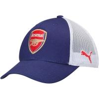 Arsenal FC puma flex футбольная бейсболка с сеткой синяя