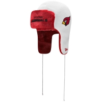Arizona Cardinals nfl new era helmet trapper зимняя шапка ушанка