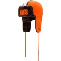 Cleveland Browns nfl new era helmet trapper зимняя шапка ушанка