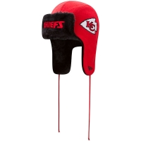 Kansas City Chiefs nfl new era helmet trapper зимняя шапка ушанка