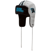 Carolina Panthers nfl new era helmet trapper зимняя шапка ушанка