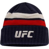 UFC reebok logo спортивная шапка темно-синяя