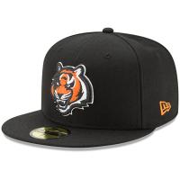 Cincinnati Bengals nfl new era fitted кепка с прямым козырьком черная