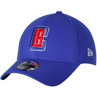 LA Clippers nba new era flex-fit classic спортивная бейсболка синяя