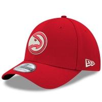 Atlanta Hawks nba new era flex-fit classic спортивная бейсболка красная