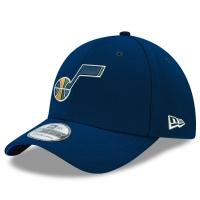 Utah Jazz nba new era flex-fit classic спортивная бейсболка темно-синяя