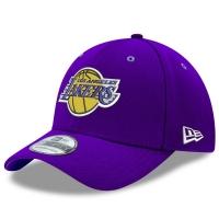 Los Angeles Lakers nba new era flex-fit classic спортивная бейсболка фиолетовая