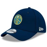 Denver Nuggets nba new era flex-fit classic спортивная бейсболка темно-синяя