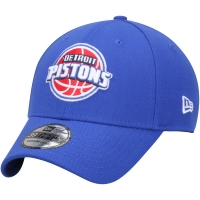 Detroit Pistons nba new era classic flex-fit спортивная бейсболка синяя