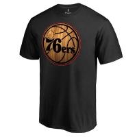 Philadelphia 76ers nba hardwood баскетбольная футболка черная