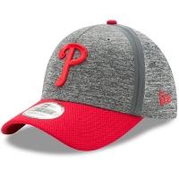 Philadelphia Phillies mlb new era flex heathered спортивная бейсболка серая