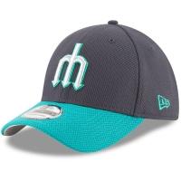 Seattle Mariners mlb new era flex diamond спортивная бейсболка темно-синяя