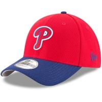 Philadelphia Phillies mlb new era flex diamond спортивная бейсболка красная