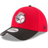 Cincinnati Reds mlb new era flex diamond спортивная бейсболка красная