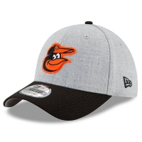 Baltimore Orioles mlb new era flex redux спортивная бейсболка серая