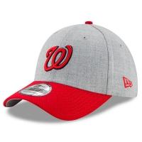 Washington Nationals mlb new era flex redux спортивная бейсболка серая