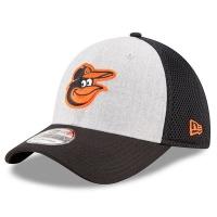 Baltimore Orioles mlb new era flex neo спортивная бейсболка серая