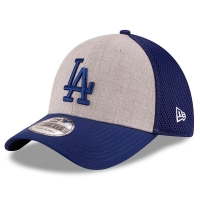 Los Angeles Dodgers mlb new era LA flex heathered спортивная бейсболка синяя