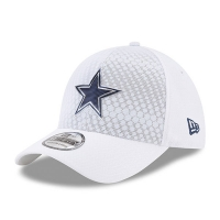 Dallas Cowboys nfl new era flex color спортивная бейсболка белая