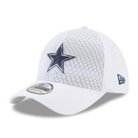 Dallas Cowboys nfl new era flex color спортивная бейсболка белая