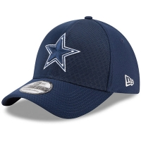 Dallas Cowboys nfl new era flex color спортивная бейсболка темно-синяя