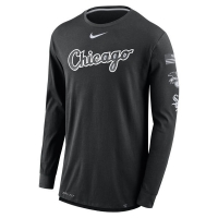 Chicago White Sox mlb nike dri-fit performance бейсбольная лонгслив футболка