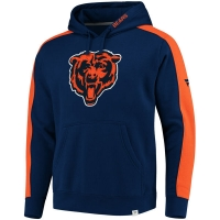Chicago Bears nfl fanatics pro line pullover hoodie толстовка с капюшоном